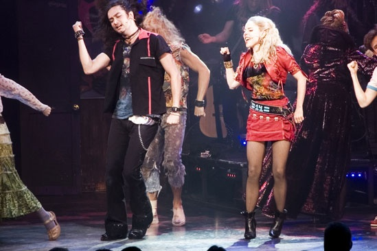 Kerry Butler first performance in Rock of Ages – Constantine Maroulis – Kerry Butler
