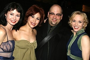 Photo Op - Chicago 10th Anniversary - party - Mary Ann Lamb - Bianca Marroquin - Ray Bohour - Charlotte d'Amboise