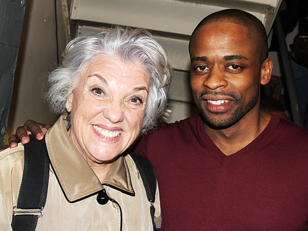 Tyne Daly - Dule Hill