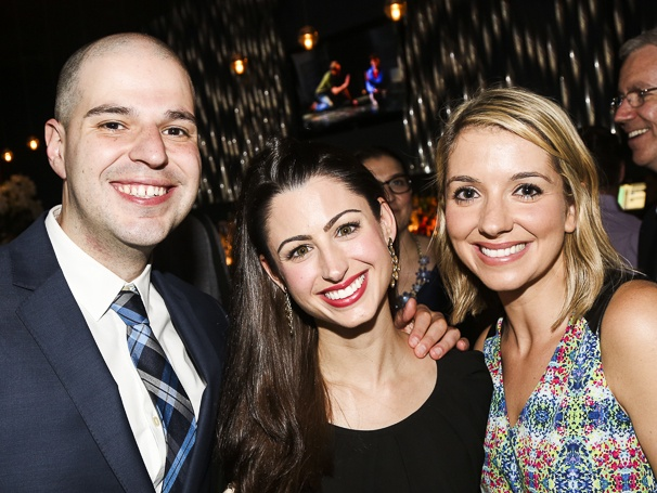 Broadway.com - Audience Choice Awards - 5/15 - Josh Ferri - Sabrina Blondman - Katy Fitzpatrick