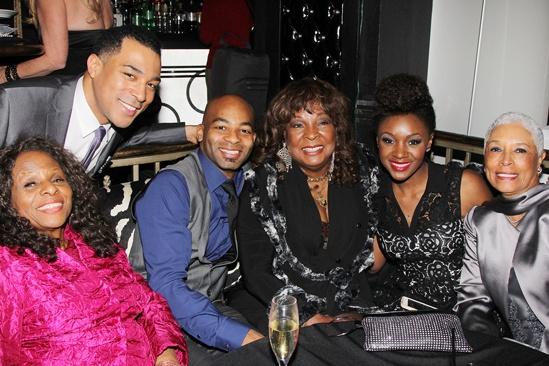 'Motown' Family Night — Louvain Demps — Charl Brown — Brandon Victor Dixon — Martha Reeves — Saycon Sengbloh — Edna Anderson-Owens