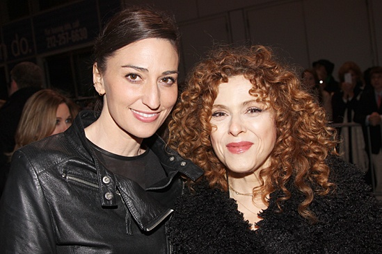 <I> Beautiful: The Carole King Musical</I>: Opening - Sara Bareilles - Bernadette Peters
