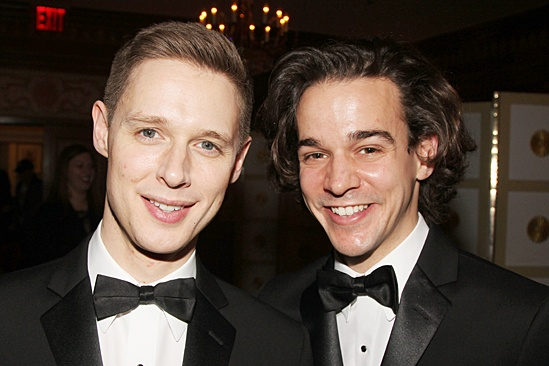 Drama League gala for NPH - 2014 - Samuel Barnett - Joseph Timms