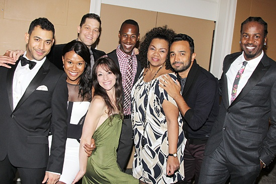 Drama League gala for NPH - 2014 - Justin Johnston - Christina Sajous - Ben Thompson - Caren Tackett - Marcus Paul James - Aisha De Haas - Andy Senor - King Aswad