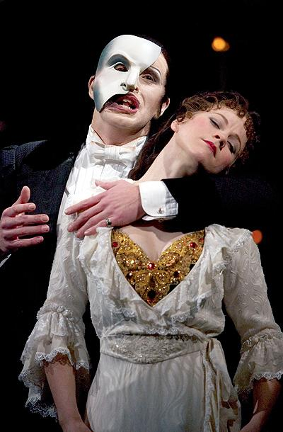 The Phantom of the Opera - London Show Photos - David Shannon - Gina Beck