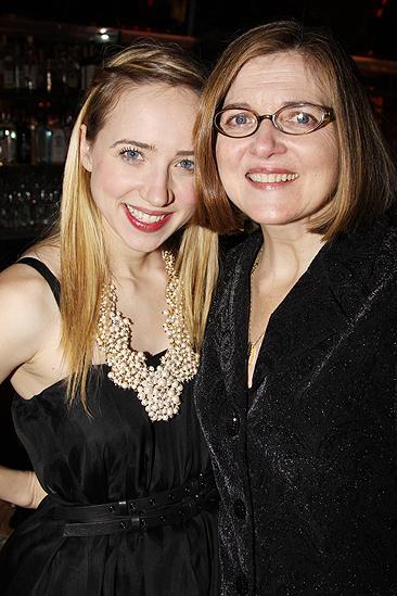 Behanding in Spokane Opening Night – Zoe Kazan – mother Robin Swicord
