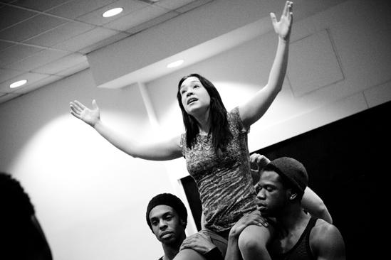 Hair Replacement Cast Rehearsal – Diana DeGarmo