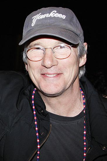 Broadway.com | Photo 5 of 6 | Richard Gere and Family Let the Sun ...