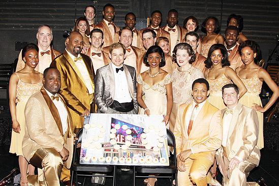 Memphis 200th Performance – cast
