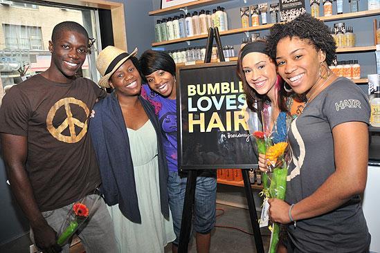 Hair Event at Bumble and Bumble – Terrence Thomas – Rashidra Scott – Erika Jerry – Diana DeGarmo – Anastacia McCleskey