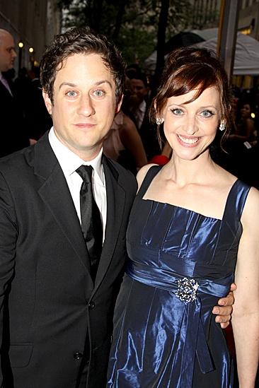 2010 Tony Awards Red Carpet – Christopher Fitzgerald – Jessica Stone