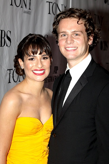 2010 Tony Awards Red Carpet – Lea Michele – Jonathan Groff