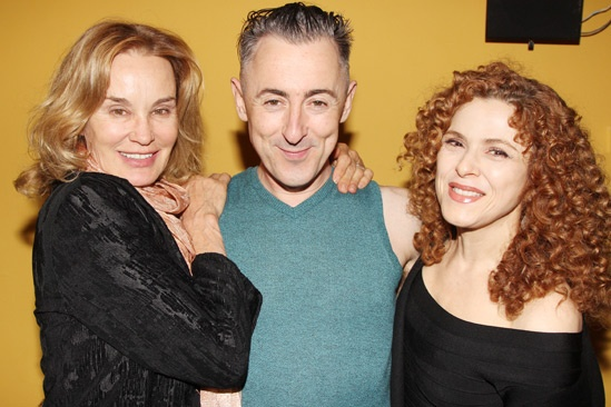 Macbeth – Opening Night – Jessica Lange – Alan Cumming – Bernadette Peters