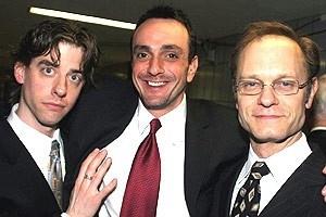 Drama Desk Awards 2005 - Christian Borle - Hank Azaria - David Hyde Pierce