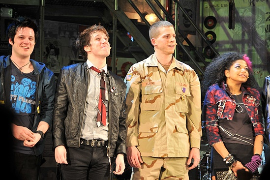 American Idiot Opening – Michael Esper – John Gallagher Jr. – Stark Sands – Rebecca Naomi Jones