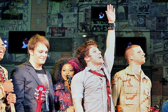 American Idiot Opening – Theo Stockman – Rebecca Naomi Jones – John Gallagher Jr. – Stark Sands