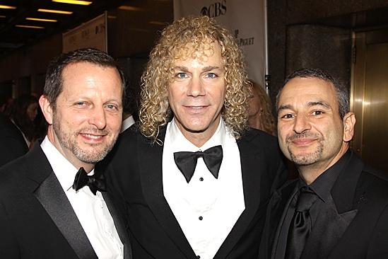 2010 Tony Awards Red Carpet – Rob Ashford – David Byran – Joe DiPietro