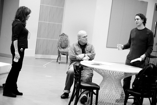 Other Desert Cities Rehearsal – Stockard Channing – Stacy Keach – Thomas Sadoski
