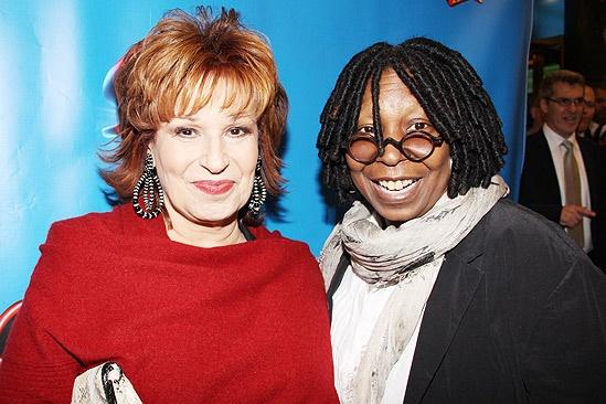 Sister Act Opening Night –  Joy Behar – Whoopi Goldberg