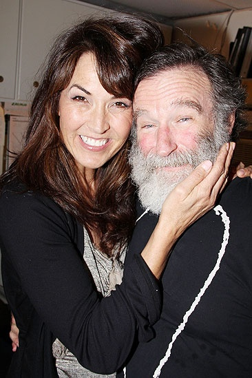 Kirk Douglas at Bengal Tiger – Robin Williams – Susan Schneider
