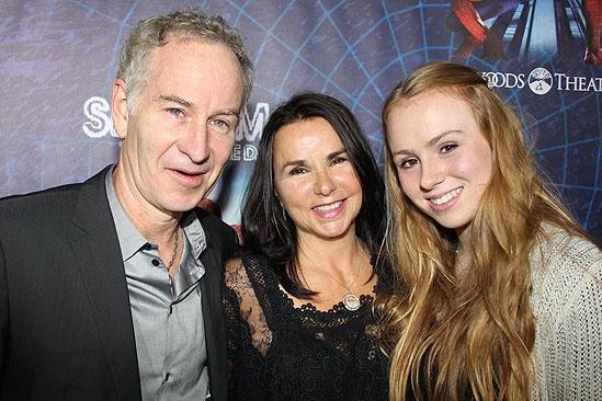 Spider-Man opening – John McEnroe –  Patty Smyth – Anna