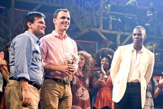 Same-Sex Weddings at St. James Theatre – John Raymond Barker – Jared Pike – Colman Domingo