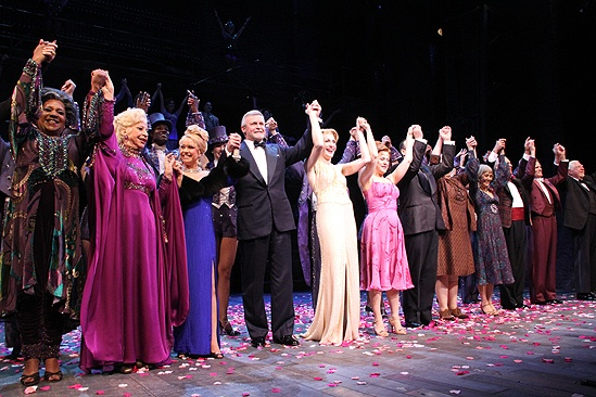 <i>Follies</i> opening night – cast