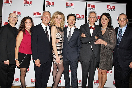 Venus in Fur Broadway Opening Night – Jon B. Platt – Jessica Jenen – Walter Bobbie – Nina Arianda – Hugh Dancy – David Ives – Lynne Meadow – Barry Grove