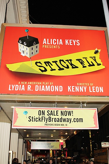 <i>Stick Fly</i> Opening Night – marquee