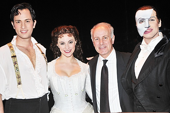 Phantom of the Opera – 10,000 Performance – Kyle Barisich – Trista Moldovan – Joe Benincasa – Hugh Panaro