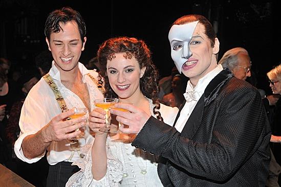 Phantom of the Opera – 10,000 Performance – Kyle Barisich – Trista Moldovan – Hugh Panaro