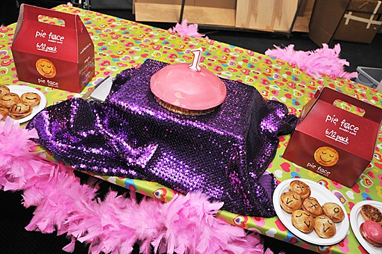 Priscilla First Anniversary – sweets table
