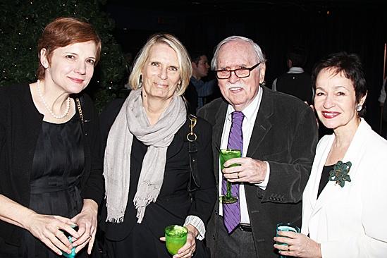 Peter and the Starcatcher Opening Night – Tara Rubin - Carolyn Meehan - Tom Meehan - Lynn Ahrens