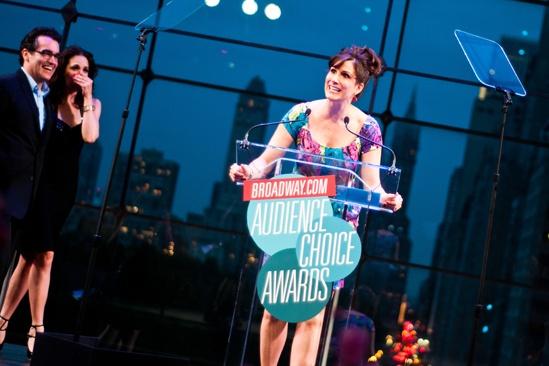 2012 Audience Choice Awards – Ceremony Photos – Brian D'Arcy James – Tammy Blanchard - Stephanie J. Block