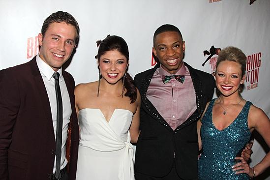 Bring It On Opening Night – Dahlston Delgado – Casey Jamerson – Dexter Carr – Courtney Corbeille