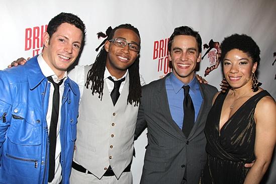 Bring It On Opening Night – Sheldon Tucker - Antwan Bethca - Michael Mindlin - Adrianna Parson