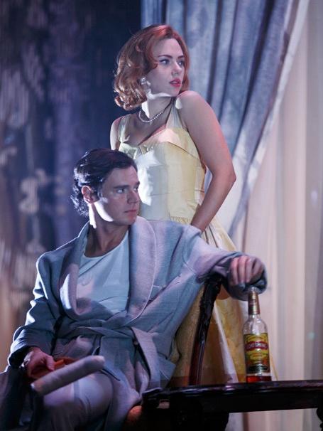 Show Photos - Cat on a Hot Tin Roof - Scarlett Johansson - Benjamin Walker