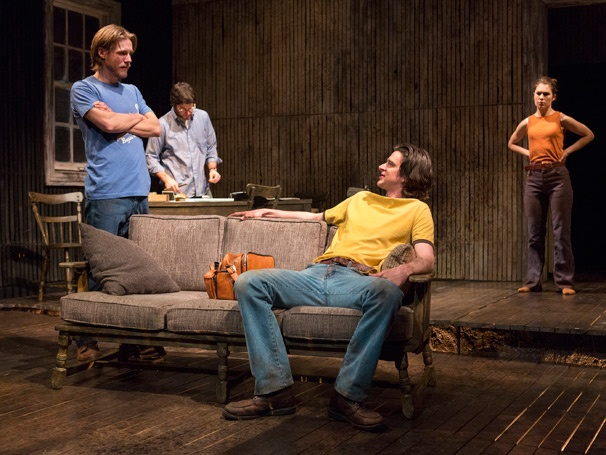 Show Photos - The Mound Builders - Zachary Booth - David Conrad - Will Rogers - Janie Brookshire