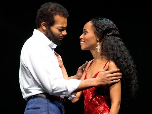 Show Photos - Motown the Musical - Brandon Victor Dixon - Valisia LeKae