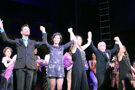 Pippin – Opening Night – Brad Musgrove – Diane Paulus – Gypsy Snider – Chet Walker – Nadia DiGiallonard