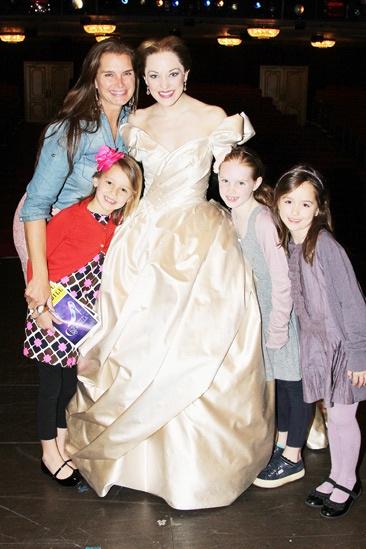 Brooke Shields at Cinderella – Brooke Shields – Laura Osnes – Grier Henchy
