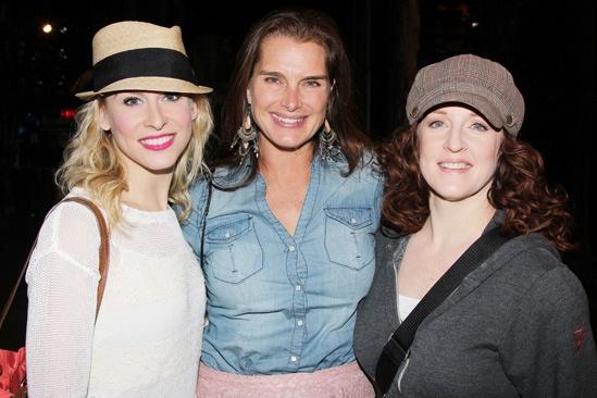 Brooke Shields at Cinderella – Brooke Shields – Stephanie Gibson – Linda Mugleston