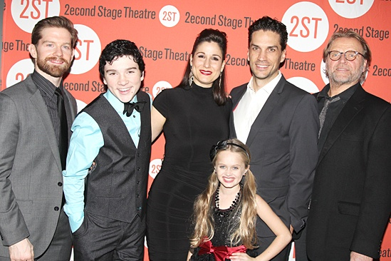 Little Miss Sunshine – Opening Night – Rory O'Malley – Logan Rowland – Stephanie J. Block – Hannah Nordberg - Will Swenson – David Rasche