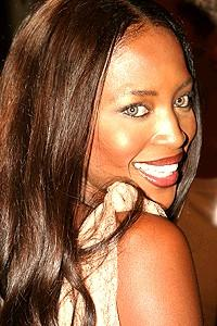 A Raisin in the Sun opening - Naomi Campbell