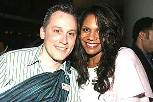 A Raisin in the Sun opening - David Aaron Baker - Audra McDonald