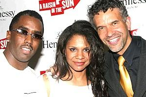 A Raisin in the Sun opening - Sean Combs - Audra McDonald - Brian Stokes Mitchell