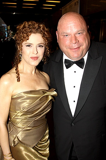 2010 Tony Awards Red Carpet – Bernadette Peters – Kevin Chamberlin