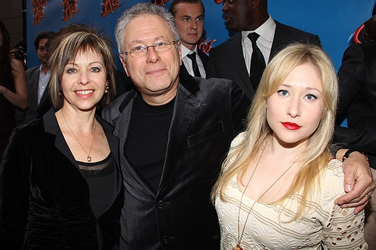 Sister Act Opening Night –  Alan Menken and family