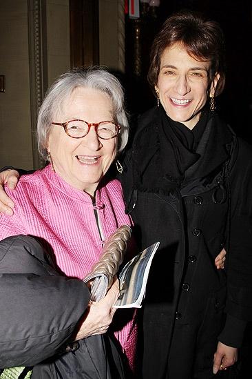Sister Act Opening Night –  Natasha Katz and mom