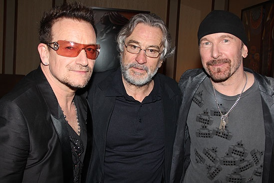 Spider-Man opening – Bono – Robert De Niro – The Edge